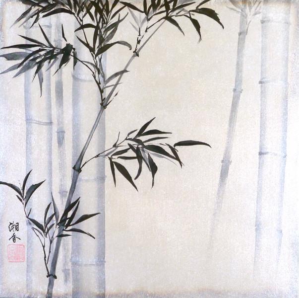 Bamboo / Bokuchiku    墨竹