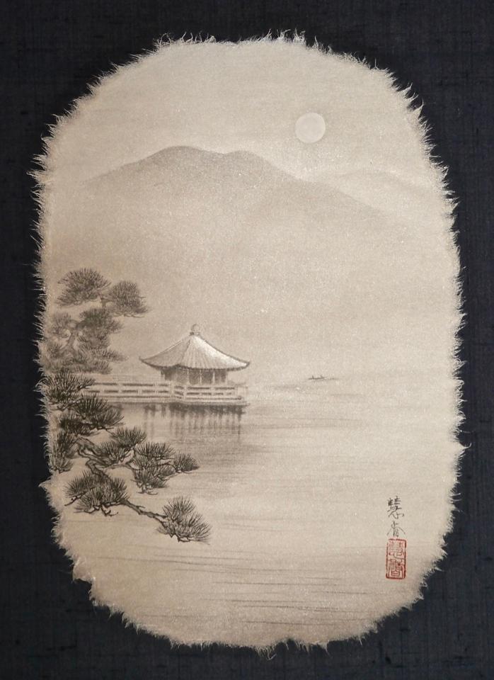 Ukimido-Lake Biwa琵琶湖・浮き御堂