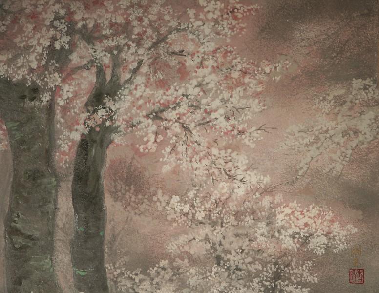 Shoko Ohta - Cherry Slope Kamurozaka in Meguro 桜の坂道-目黒かむろ坂