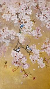 Shoko Ohta - Chickadees getting together to play 群れ遊ぶ(四十雀)