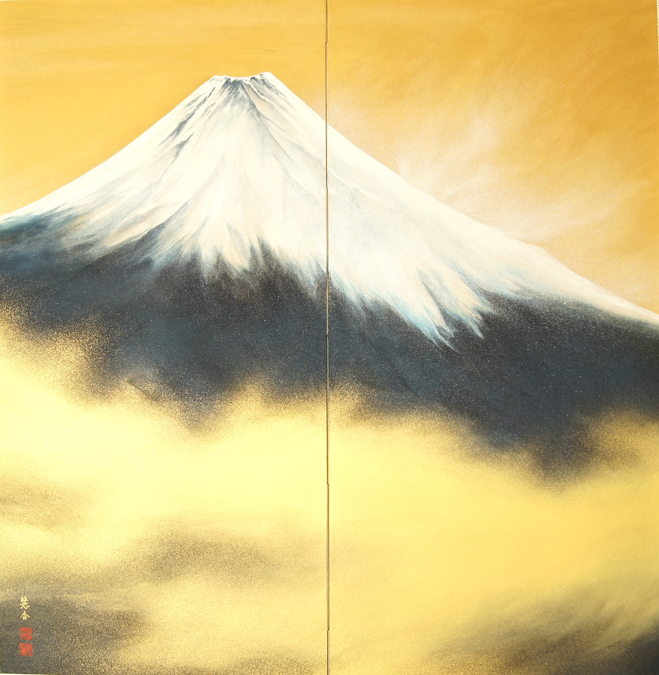 Suiko Ohta - Magnificence of Mt. Fuji