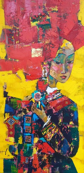 Vu Thang - Red Dao Girl #3