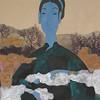 Vu Thu Hien, The Nature 60 x80cm, Watercolour on Dzo paper <b>(SOLD)</b>