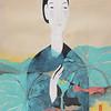 Vu Thu Hien, Lotus Dreaming 1; Watercolour on Dzo paper; 24 x 32 in ; 2013