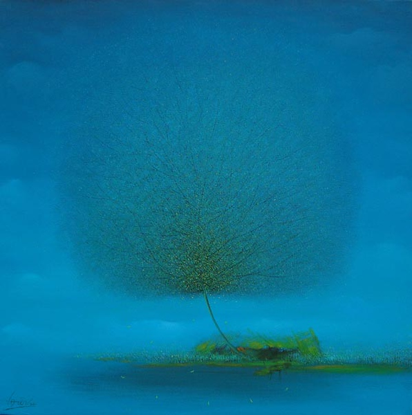Vu Cong Dien - Morning in Spring