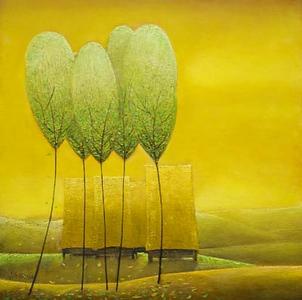 Vu Cong Dien - Yellow Landscape