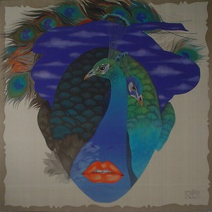 Vu Dinh Tuan - Peacock in Love (II)