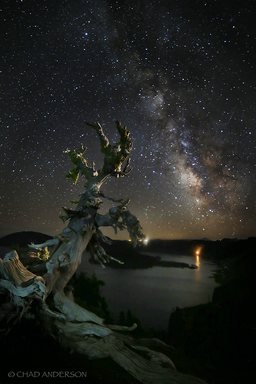 Under the Stars at Crater Lake