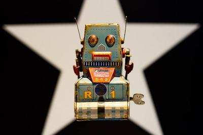 Robot Tank-Z Vintage 1953 Star  N°1/10