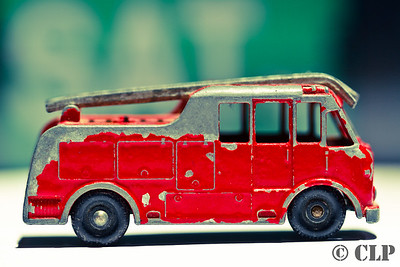 Fire Engine by Lesney. N° 1/10