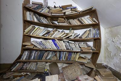 La bibliotèque, Kervihan
