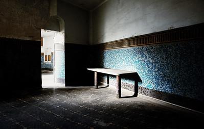 Hôtel-Dieu, Rennes La chambre Mortuaire - 1925