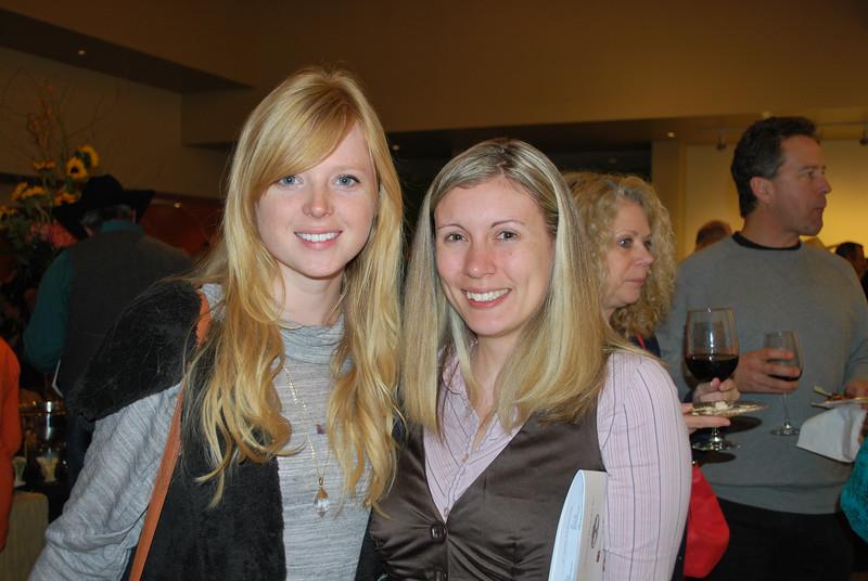 Anna Jarrett and Alissa Walter