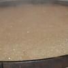 Boiling vat of cane syrup