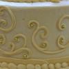 cake scrolls in icing