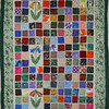 Special handmade quilt wall handing made by Maxine in New Haven, Connecticut