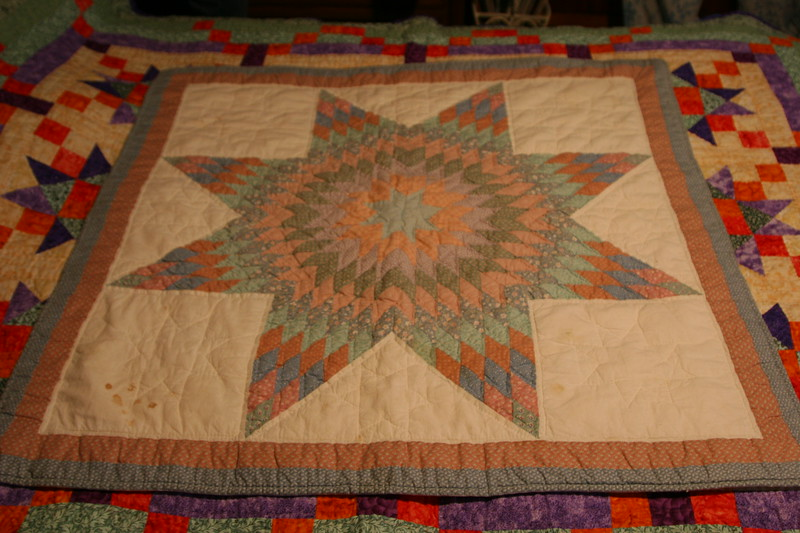 "Handmade quilts made by Maxine ""Maxi"" in New Haven, Connecticut"