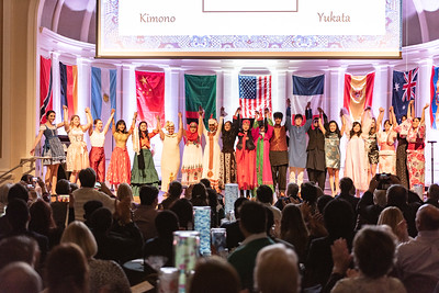 The International Education Center hosts the 2020 International Dinner.