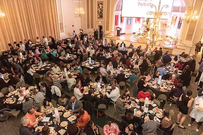 The International Education Center hosts the 2020 International Dinner.