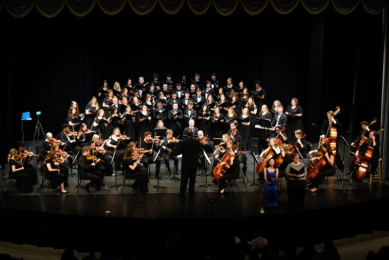 Department of Music, College of Arts and Sciences, Orchestra, University Chorus