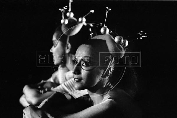 "Ballet Nacional de Mexico, Mexico DF, may 4,1984. Ensayo ""Paraiso de los ahogados"". (Austral Foto/Renzo Gostoli)"