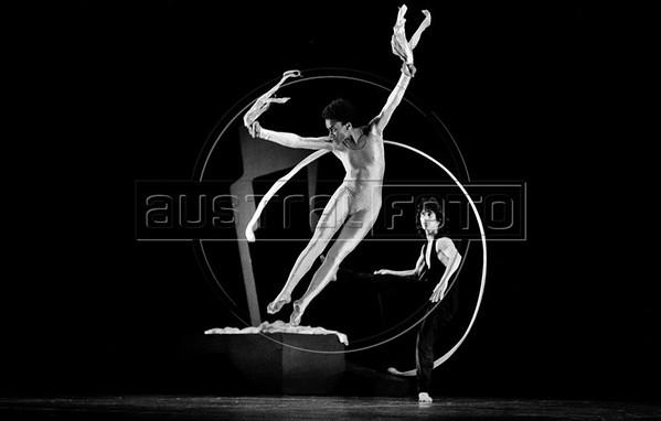 Ballet Nacional de Mexico, Mexico DF, agosto 4,1986. Victoria Camero. (Austral Foto/Renzo Gostoli)