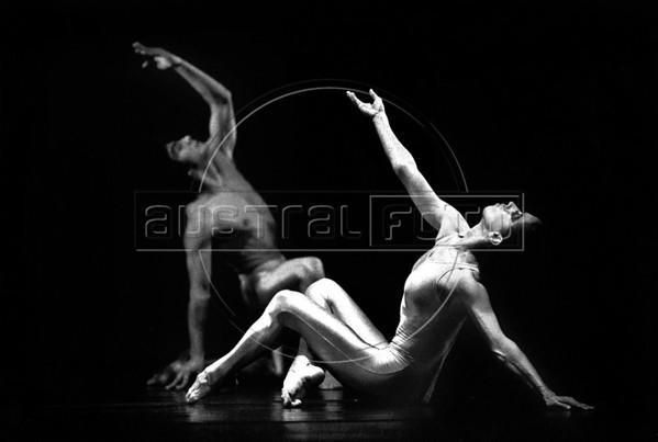 Ballet Nacional de Mexico, Mexico DF, 1986. Jaime Blanc, Antonia Quiroz.  (Austral Foto/Renzo Gostoli)