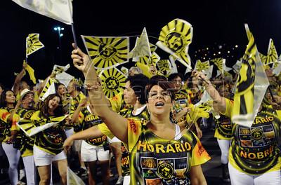 Ensaio tecnico da Sao Clemente, Rio de Janeiro, Brasil, Janeiro 12, 2013. (Austral Foto/Renzo Gostoli)