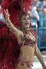 "Ana Claudia Soares performs for  the Salgueiro Samba School during the ""Special group"" parade in Rio de Janeiro, Brazil.(Australfoto/Douglas Engle)"