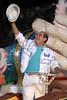 "Brazilian actor and comedian Renato Aragao parades with the Portela samba school during the ""Special Group"" carnival parade at the sambadrome in Rio de Janeiro, Feb. 8, 2005.(AustralFoto/Douglas Engle)"