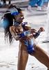 "Brazilian model Valeria Valenca parades with the Portela samba school during the ""Special Group"" carnival parade at the sambadrome in Rio de Janeiro, Feb. 8, 2005.(AustralFoto/Douglas Engle)"