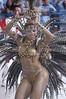 """Juliana alves performs for the Salgueiro Samba School during the """"Special group"""" parade in Rio de Janeiro, Brazil.(Australfoto/Douglas Engle)"""