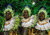 Members of Imperio Serrano samba school perform at Sambadrome on the first night of the Carnival samba school parade, Rio de Janeiro, Brazil , February 22, 2009.  (Austral Foto/Renzo Gostoli)