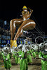 A balloon representing a woman is seen during the Sao Clemente samba school parade at Sambadrome, Rio de Janeiro, Brazil , February 20, 2012. (Austral Foto/Renzo Gostoli)