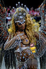 A dancer from the Porto da Pedra samba school performs at the Sambadrome during the samba school parade in Rio de Janeiro, Brazil, Feb. 19, 2007. (Austral Foto/Renzo Gostoli)