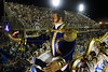 A float resembling one of the Americas independence heroes, Simon Bolivar is seen during Vila Isabel samba school parade at the sambodrome, Rio de Janeiro, Brazil, Feruary 26, 2006. (Austral Foto/Renzo Gostoli)