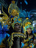 A dancer of the Vila Isabel samba school performs at Sambadrome, Rio de Janeiro, Brazil, Feb. 04, 2008.   (Austral Foto/Renzo Gostoli)