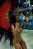 Dancer Viviane Castro of the Sao Clemente samba school performs at Sambadrome, Rio de Janeiro, Brazil , Feb. 03, 2008. (Austral Foto/Renzo Gostoli)