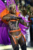 A dancer from the Unidos do Salgueiro samba school performs at the Sambadrome during the samba school parade, Rio de Janeiro, Brazil, March 7, 2011. (Austral Foto/Renzo Gostoli)