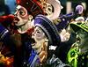 Members of Renascer samba school perform at Sambadrome, Rio de Janeiro, Brazil , February 19, 2012. (Austral Foto/Renzo Gostoli)