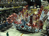A float of Academicos de Santa Cruz samba school parades at the Sambadrome during the samba school parade, Rio de Janeiro, Brazil, March 5, 2011. (Austral Foto/Renzo Gostoli)