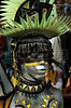 A dancer from the Renascer samba school performs at the Sambadrome during the samba school parade, Rio de Janeiro, Brazil, March 5, 2011. (Austral Foto/Renzo Gostoli)
