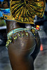 A dancer of Vila Isabel samba school performs at Sambadrome, Rio de Janeiro, Brazil , Feb. 04, 2008. (Austral Foto/Renzo Gostoli)