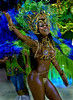 A dancer of the Sao Clemente samba school performs at Sambadrome, Rio de Janeiro, Brazil , Feb. 03, 2008. (Austral Foto/Renzo Gostoli)