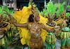 Dancer Quiteria Chagas of Imperio Serrano samba school performs at the Sambadrome during the samba school parade, Rio de Janeiro, Brazil, February 13, 2010.  (Austral Foto/Renzo Gostoli)