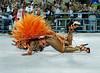 Adriana Bombom dancer of Salgueiro samba school performs at Sambadrome, Rio de Janeiro, Brazil , February 20, 2012. (Austral Foto/Renzo Gostoli)