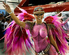 A dancer from Tuiuti samba school performs at the Sambadrome during the samba school parade in Rio de Janeiro, Brazil, February 13, 2010. (Austral Foto/Renzo Gostoli)