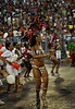Samba dancers perform at a samba school's rehearsal at the Sambadrome, Rio de Janeiro, January 23, 2011. All week end of January and February the Rio's samba schools train in the Sambadrome for the carnival parade. The 2011 carnival start officially March 4. (Austral Foto/Renzo Gostoli)