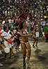 Samba dancers perform at a samba school's rehearsal at the Sambadrome, Rio de Janeiro, January 23, 2011. All week end of January and February the Rio's samba schools train in the Sambadrome for the carnival parade. The 2011 carnival start officially March 4. (Austral Foto/Renzo Gostoli)