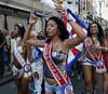 Dancers of Bloco da Saara participate at carnival festivities in a street of Rio de Janeiro, Brazil, February 26, 2011. (Austral Foto/Renzo Gostoli)
